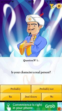 Akinator: Amusez-vous avec Genie deviner vos pensées