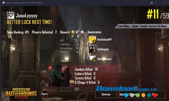 How to play zombie mode in PUBG Mobile