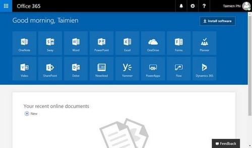 Bayaran pendaftaran pendaftaran Office 365