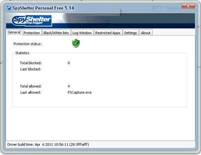 SpyShelter Premium9.6.5-キーロガーを防ぐソフトウェア