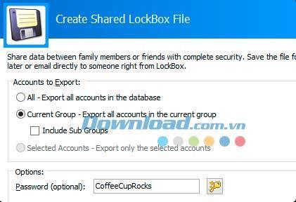 CoffeeCup LockBox5.0-データのセキュリティと管理