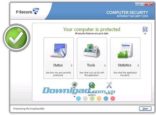F-Secure Internet Security 3.17.192.0 - حل حماية شامل لأجهزة الكمبيوتر