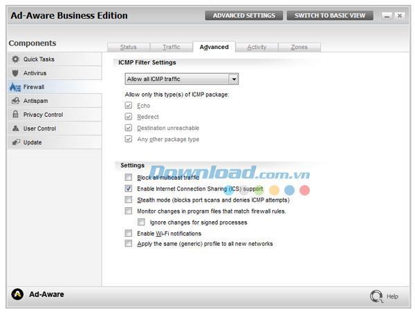 Ad-Aware Business Security 3.5 - برنامج أمان للشركات