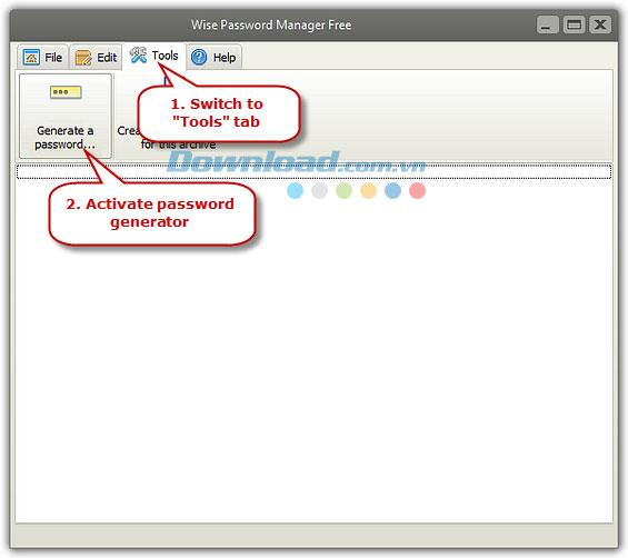 Wise Password Manager Free 5.4.5 - مدير كلمات مرور مجاني
