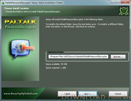 PaltalkPasswordDecryptor 2.0 - يستعيد كلمات المرور المخزنة بواسطة PaltalkScene