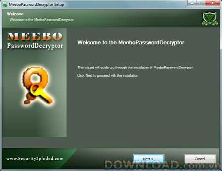 MeeboPasswordDecryptor 1.5 - يستعيد كلمات مرور الدردشة