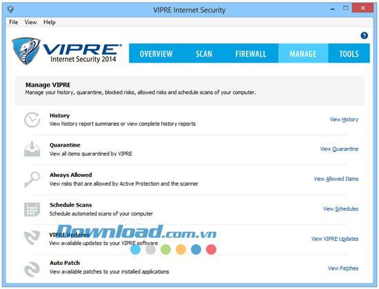 Vipre Internet Security 2014 7.0.4.3 - حماية الكمبيوتر الشاملة