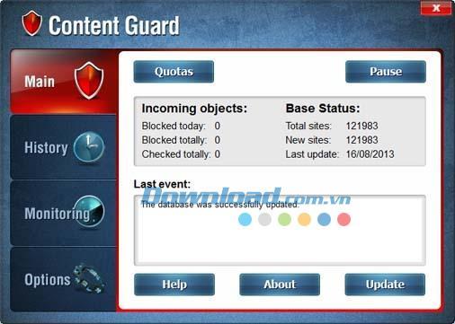 Content Guard 3.1 - برنامج للتحكم في الوصول إلى الإنترنت