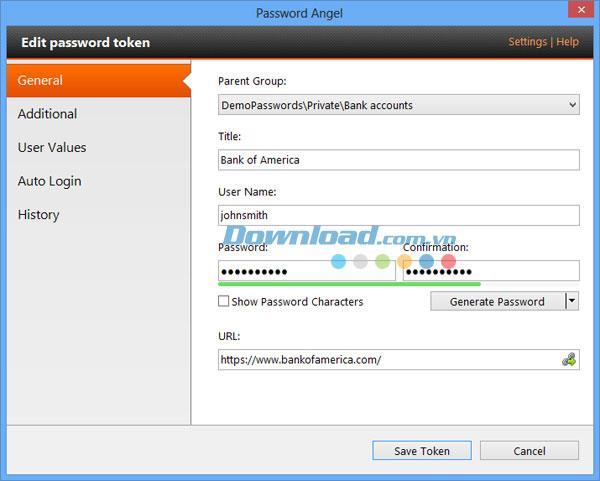 Maxidix Password Angel 13.7 - تخزين كلمات المرور وحمايتها