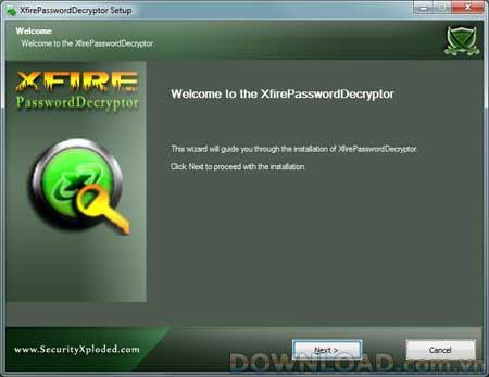 XfirePasswordDecryptor 2.0 - استعادة كلمات المرور المسجلة بواسطة Xfire
