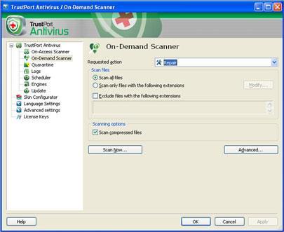 TrustPort Internet Security 2013 13.0.10.5106 - برنامج لحماية أجهزة الكمبيوتر