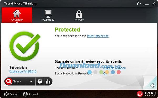 Trend Micro Titanium Premium Security - تطبيق أمان الكمبيوتر