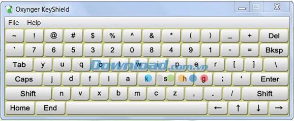 Oxynger KeyShield 1.0.3 - أداة لحظر برنامج كيلوجر