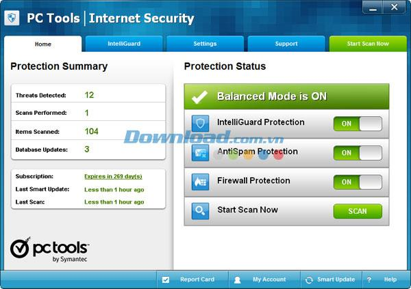 PC Tools Internet Security 9.1 - حماية شاملة للكمبيوتر