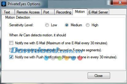 Private Eyes 1.2.2 - تتبع جميع الأنشطة على الكمبيوتر