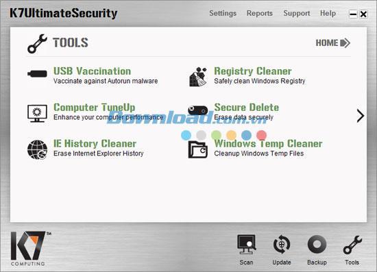 K7 Ultimate Security Gold 13.1.0186 - حل أمان الكمبيوتر الشامل