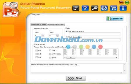 Stellar Phoenix PowerPoint Password Recovery - استعادة كلمة المرور لبرنامج MS PowerPoint
