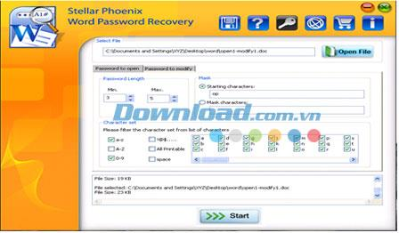 ؛ Stellar Phoenix Word Password Recovery 1.0 - استعادة كلمات المرور المفقودة لبرنامج MS Word