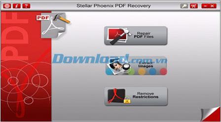 ؛ Stellar Phoenix PDF Recovery 1.0 - استعادة ملفات PDF التالفة