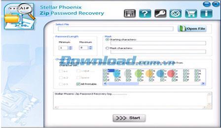 ؛ Stellar Phoenix Zip Password Recovery 1.0 - استعادة كلمة مرور ملف ZIP