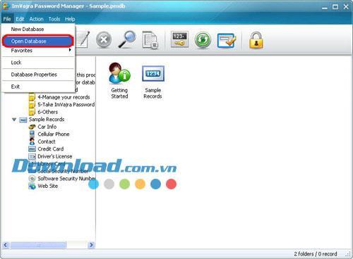ImVajra Password Manager 1.0.34.1218 - برنامج احترافي لإدارة كلمات المرور