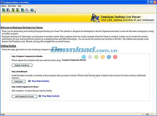 موظف سطح المكتب Live Viewer 12.01 - برنامج مراقبة الموظفين