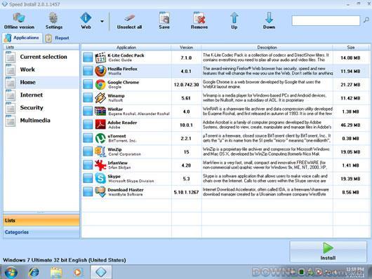 تثبيت السرعة 2.0.2.1738 - البحث عن البرامج وتثبيتها تلقائيًا