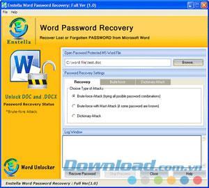 برنامج استعادة كلمة المرور 1.0 - برنامج استعادة كلمة المرور