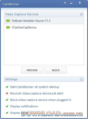 WOLFCODERS CamBlocker 1.0.0.4 - منع جميع كاميرات الويب