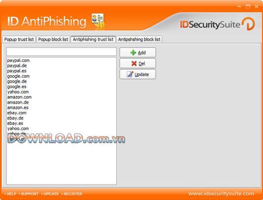 ID AntiPhishing - منع مواقع التصيد الاحتيالي