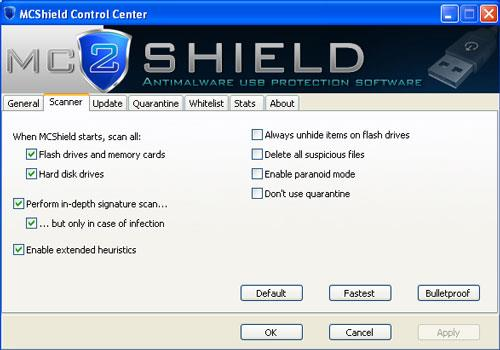 MCShield - برنامج حماية USB مجاني