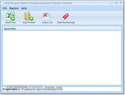 Excel Remove Sheet & Workbook Password Protection Software - إزالة الحماية بكلمة مرور في أوراق عمل MS Excel