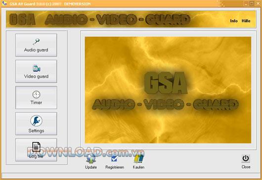 ؛ GSA AV Guard - تتبع موقعًا بكاميرا فيديو