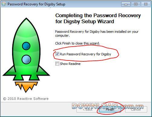استعادة كلمة المرور لـ Digsby - استعادة كلمات مرور حساب Digsby