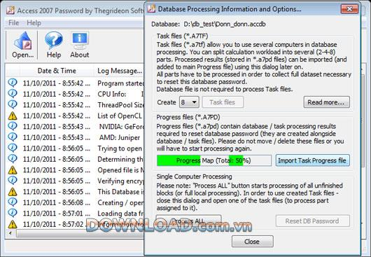 Access 2007 Password - إعادة تعيين كلمة مرور قاعدة بيانات Access 2007