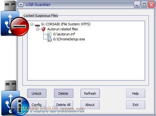 USB Guardian - حماية USB
