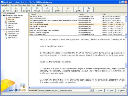 VaultletSuite 2 Go 2.9.9 - تشفير آمن للبريد الإلكتروني