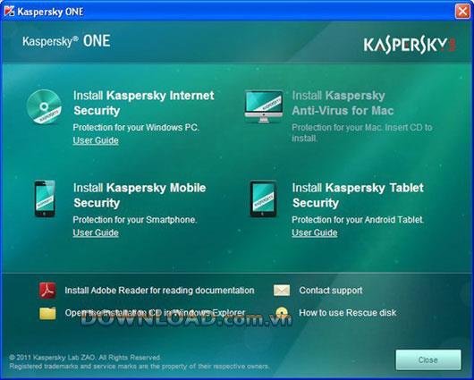 Kaspersky ONE - الأمان للعديد من الأجهزة المختلفة