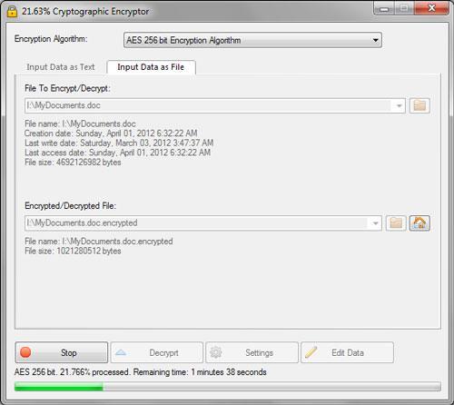 ؛ VSEncryptor (64 بت) - تشفير المستندات والملفات بسهولة
