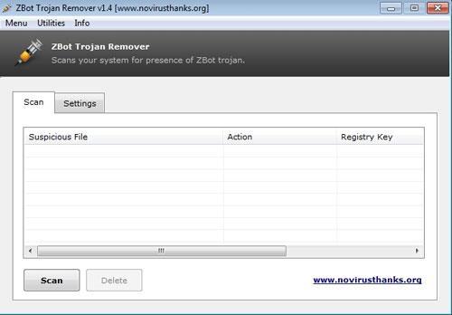 Zeus Trojan Remover Portable - مكافحة سرقة المعلومات المصرفية وبطاقات الائتمان والبيانات الحساسة