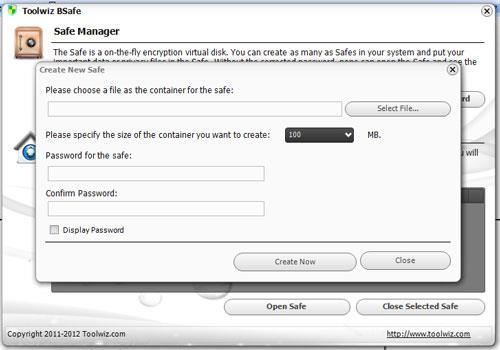 ToolWiz BSafe - تشفير مجاني للبيانات الشخصية