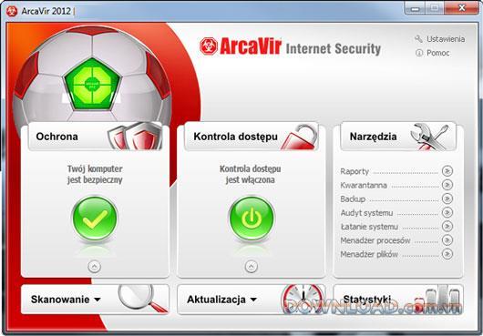 ArcaVir Internet Security 2012 (64 بت) - حماية شاملة للكمبيوتر