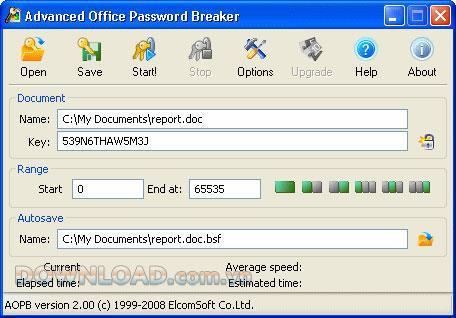؛ Advanced Office Password Breaker - استعادة كلمات المرور بشكل فعال