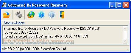 Advanced IM Password Recovery - استعادة كلمات مرور الدردشة بشكل فعال