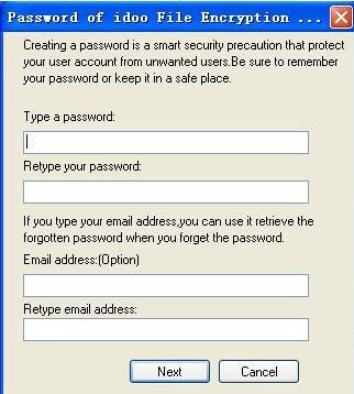 idoo File Encryption Pro - تشفير قوي للملفات