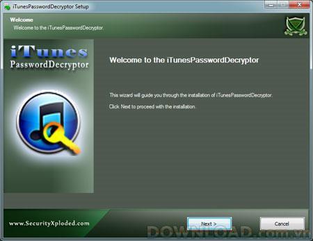 iTunesPassword Decryptor 5.0 - استعادة حساب iTunes