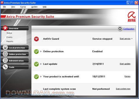 Avira Premium Security Suite 10 - Schützen Sie Ihren Computer