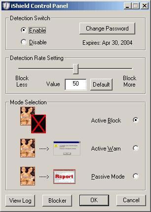iShield 3.2.3.3 - Schwarze Webblockierungssoftware