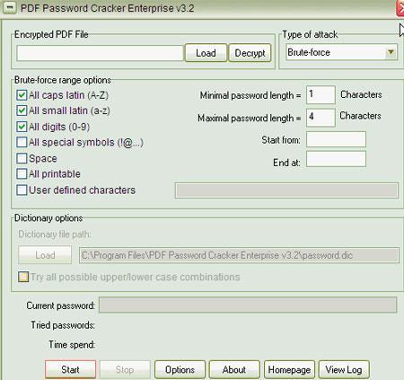 PDF Password Cracker Enterprise