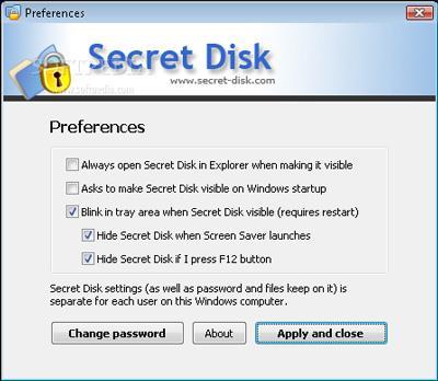 Disque secret 6.0.76